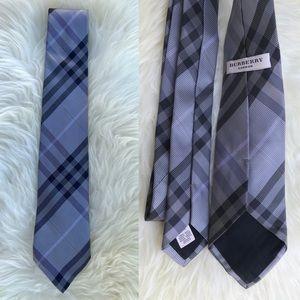 Burberry Check Gray Tie
